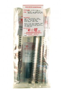 Wolff .45 Reduced Power Recoil Spring Pack